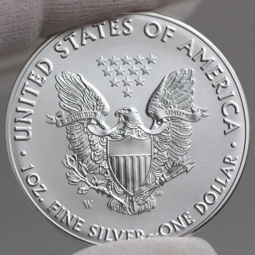 2016-W 30th Anniversary Uncirculated American Silver Eagle - Reverse, a