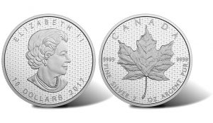 2017 Canada 150 Maple Leaf Silver Coin Nears Sellout