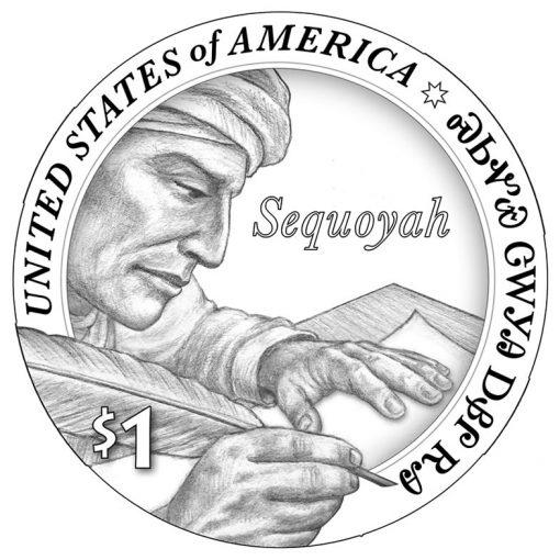 2017 Native American Dollar Design