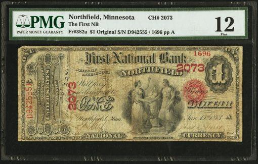 Northfield $1 Original Series Ace