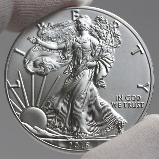 Obverse 2016-W 30th Anniversary Uncirculated American Silver Eagle