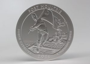 US Mint Sales: Fort Moultrie 5 oz Coin and 3-Coin Set Debut