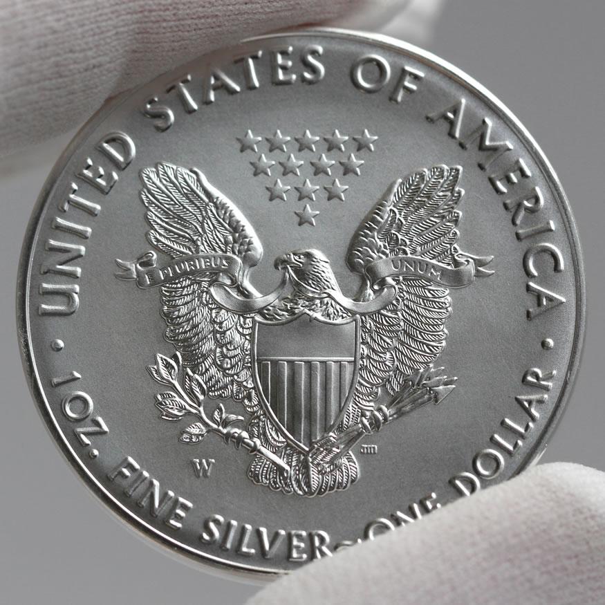 2016 W 30th Anniversary Uncirculated American Silver Eagle