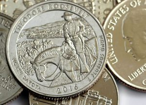 Theodore Roosevelt National Park Quarter and Coins