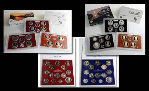 2015 Proof Set, 2015 Mint Set and 2015 Silver Proof Set