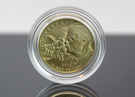 2016-W Uncirculated National Park Service $5 Gold Commemorative Coin
