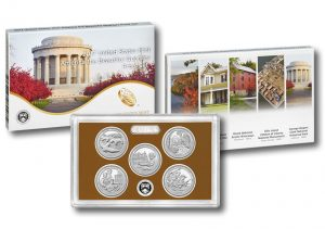 2017 America the Beautiful Quarters Proof Set - Packaging, Lens and Coins