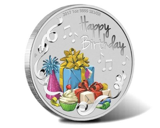 2017 Happy Birthday 1oz Silver Coin