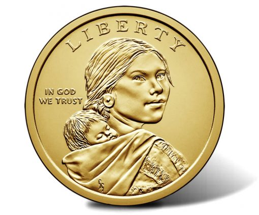 2017 Native American $1 Coin, Obverse