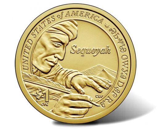 2017 Native American $1 Coin, Reverse
