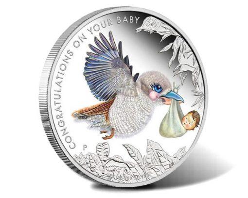 2017 Newborn Baby 1-2oz Silver Proof Coin
