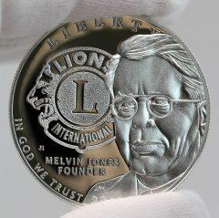 2017-P Proof Lions Clubs International Centennial Silver Dollar Obverse Photo
