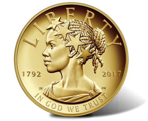2017-W $100 American Liberty 225th Anniversary Gold Coin, Obverse
