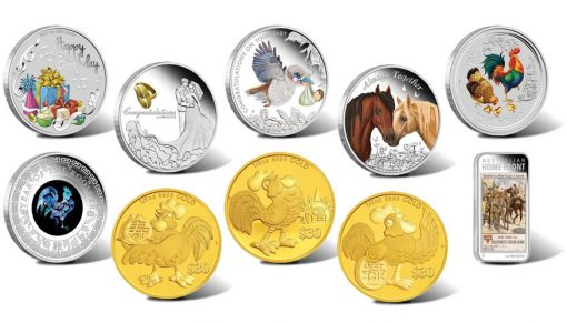 Perth Mint of Australia Coins for January 2017