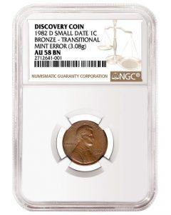 NGC Grades Rare 1982 Cent