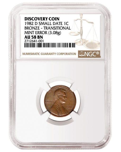 1982-D Small Date bronze cent
