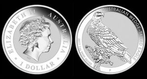2017 Australian Wedge-tailed Eagle 1oz Silver Bullion Coin