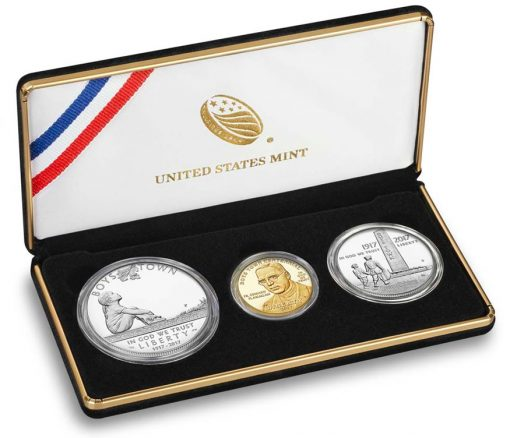 2017 Boys Town Centennial Three-Coin Proof Set