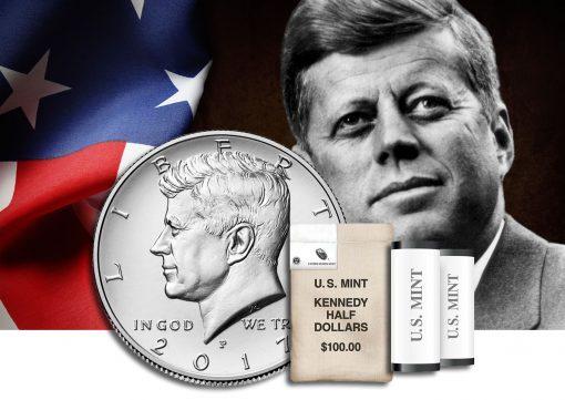 2017 Kennedy-half-dollar-rolls and bags