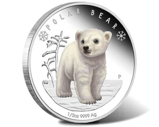 2017 Polar Bear 0.5oz Silver Proof Coin