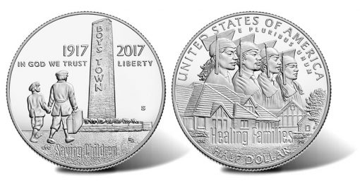 2017-S Proof Boys Town Centennial Half-Dollar