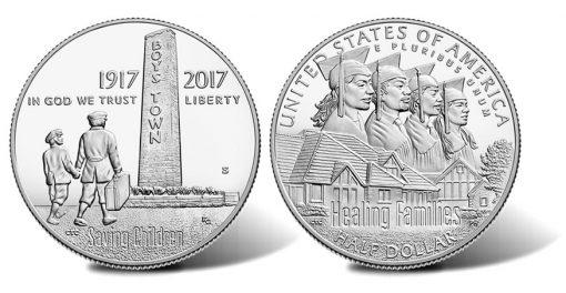 2017-S Proof Boys Town Centennial Half-Dollar