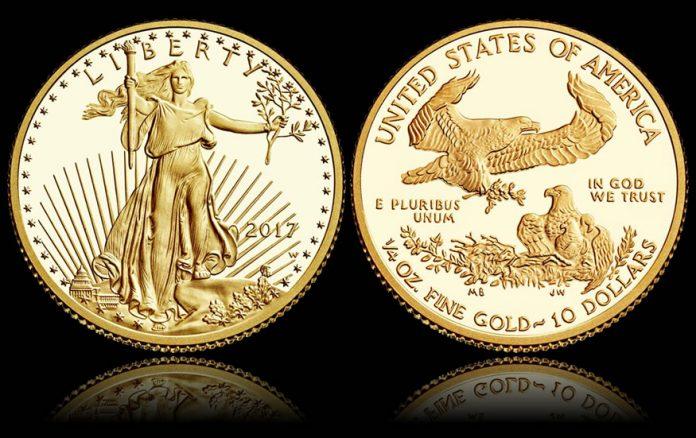 2017-W $10 Proof American Gold Eagle