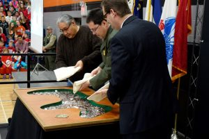 Effigy Mounds Quarter Launch Ceremony Highlights