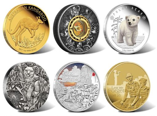 Perth Mint of Australia Collector Coins for February 2017