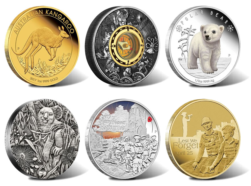Australian 2017 Collector Coins For February Coin News