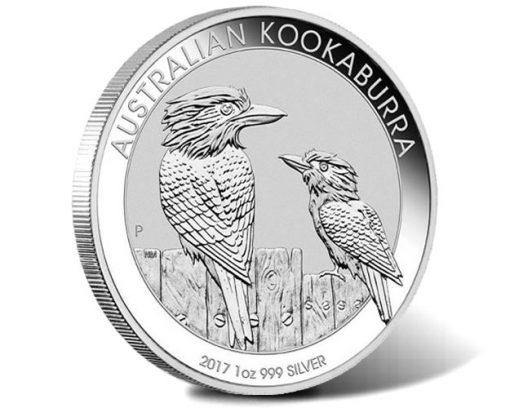 2017 Australian Kookaburra 1oz Silver Bullion Coin