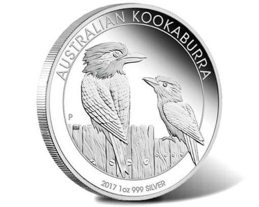 2017 Australian Kookaburra 1oz Silver Proof Coin
