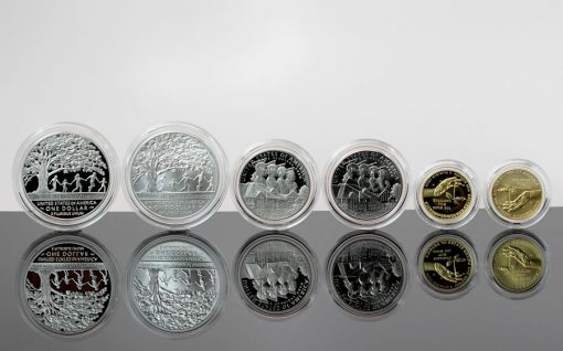 2017 Boys Town Commemorative Coins, Reverses