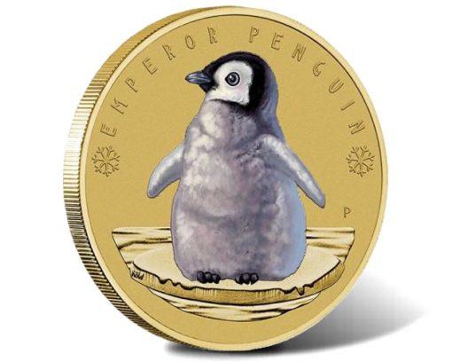 2017 Emperor Penguin $1 Coin