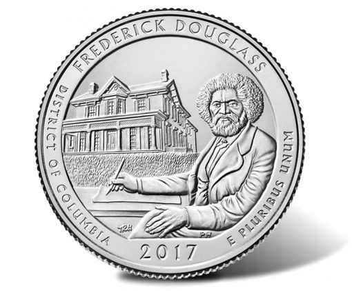 2017 Frederick Douglass National Historic Site Quarter
