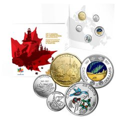2017 'My Canada, My Inspiration' Collector Card and 8-Coin Set