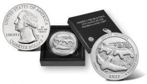 2017 Effigy Mounds 5 Oz Silver Uncirculated Coin