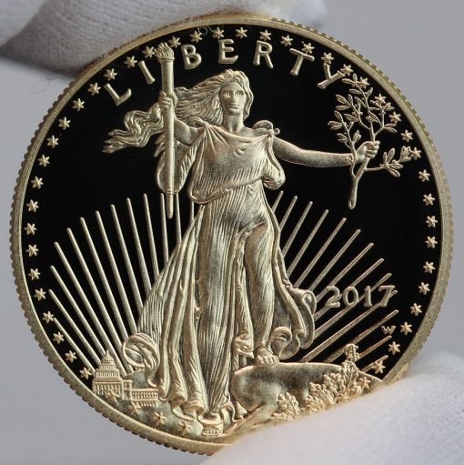 2017-W $50 Proof American Gold Eagle, Obverse