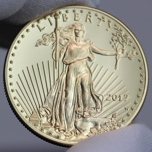 2017-W $50 Proof American Gold Eagle, Obverse-a