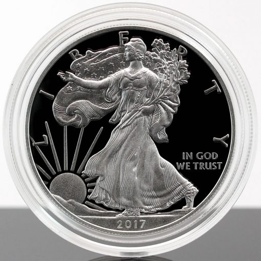 2017-W Proof American Silver Eagle, a