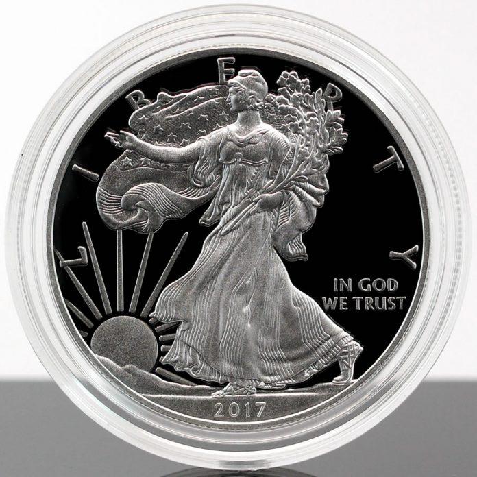 2017-W Proof American Silver Eagle, a