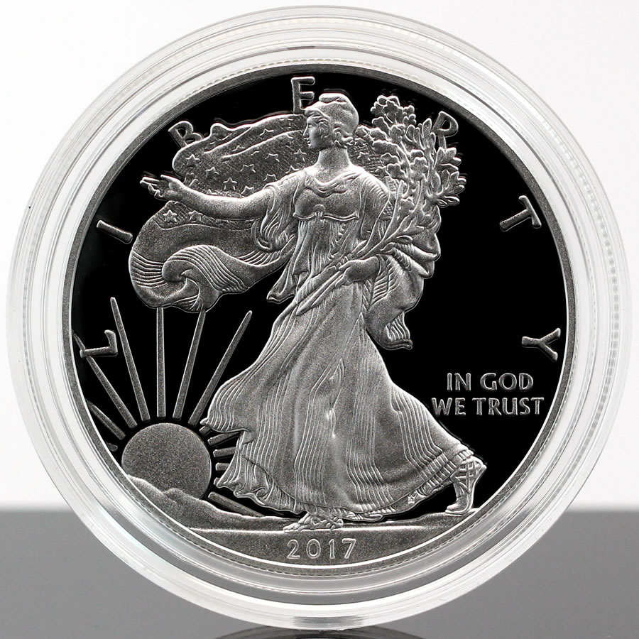 2017 w proof american silver eagle a
