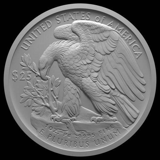American Palladium Eagle Reverse Design