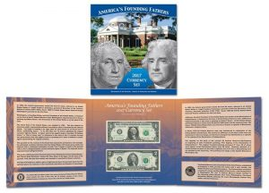 America's Founding Fathers Currency Set for 2017