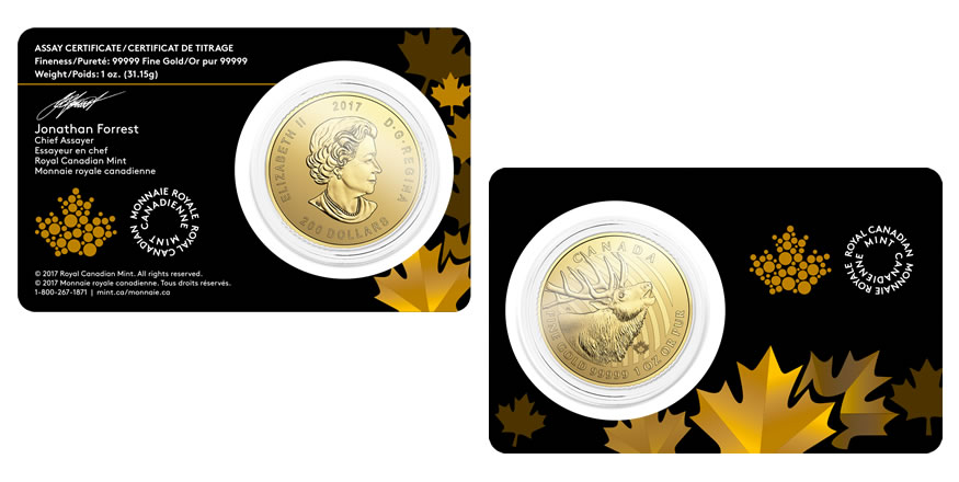 Canadian 2017 Predator And Call Of The Wild Bullion Coins Released Coin News