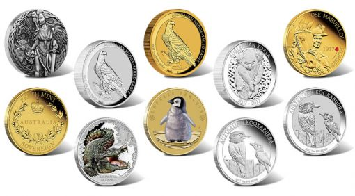 Perth Mint of Australia Collector Coins for March 2017