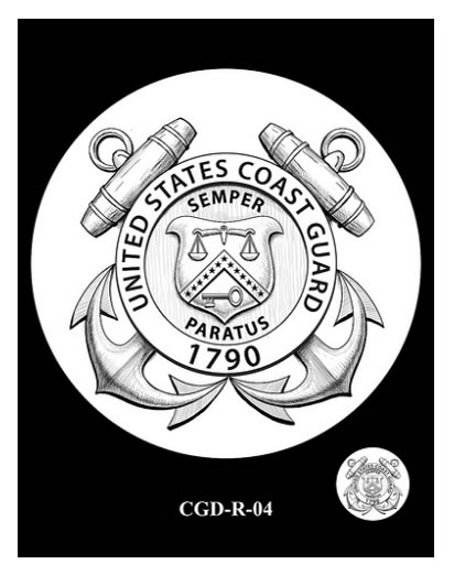 Recommended Coast Guard Silver Medal Reverse Design