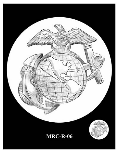Recommended Marines Silver Medal Reverse Design