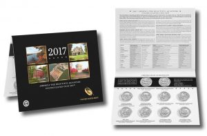 2017 Quarters Released in 10-Coin Uncirculated Set for Collectors