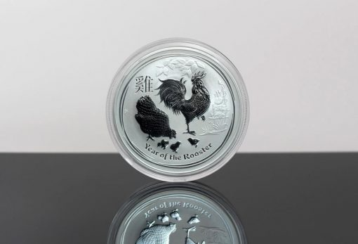 2017 Australian Lunar Rooster 1-Ounce Silver Bullion Coin Photo